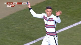 Čudesni Stefan Mitrović Spasao Srbiju, Ronaldo Oštro Protestovao (SRB vs POR)   SPORT KLUB FUDBAL