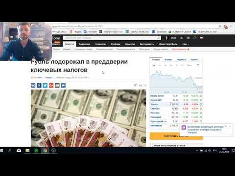 Падение курса Рубля | Что будет с рублем летом 2018 года в РФ? | Прогноз курса доллара на лето 2018