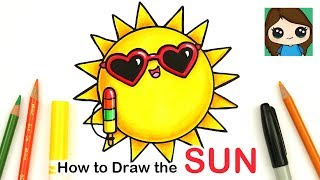 How to Draw the Sun Easy | Summer Art Series #1