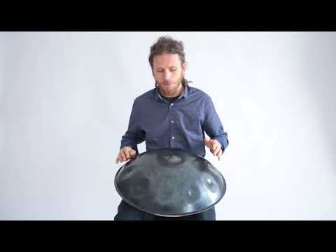 Pasha Aeon - Handpan & Beatbox improvisation, F Pygmy scale, 2018