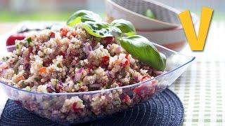 Panzanella (quinoa Salad) | The Vegan Corner