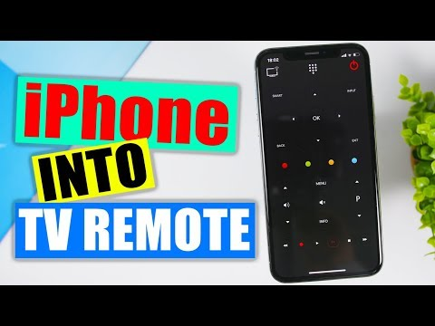 Use Your IPhone As A Universal TV Remote Controller ( FREE )