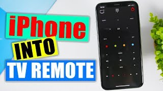 Use Your iPhone As A Universal TV Remote Controller ( FREE ) screenshot 2