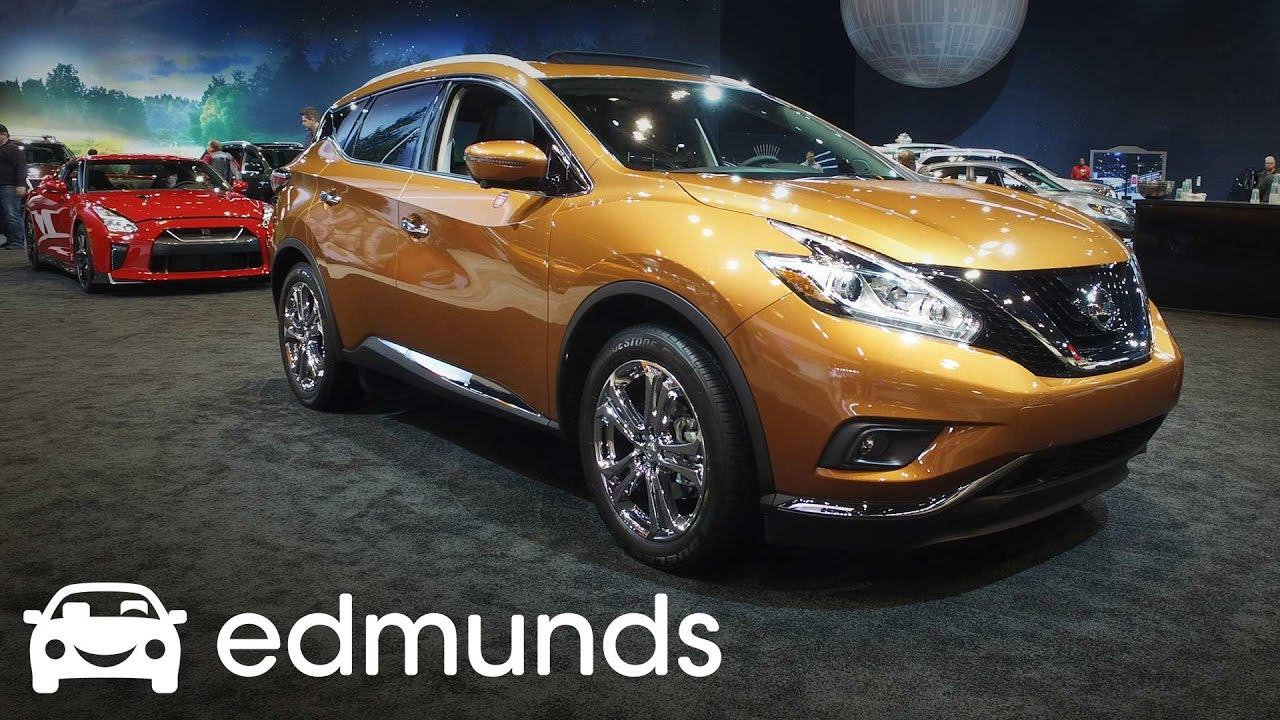 Nissan Murano Review Features Rundown Edmunds