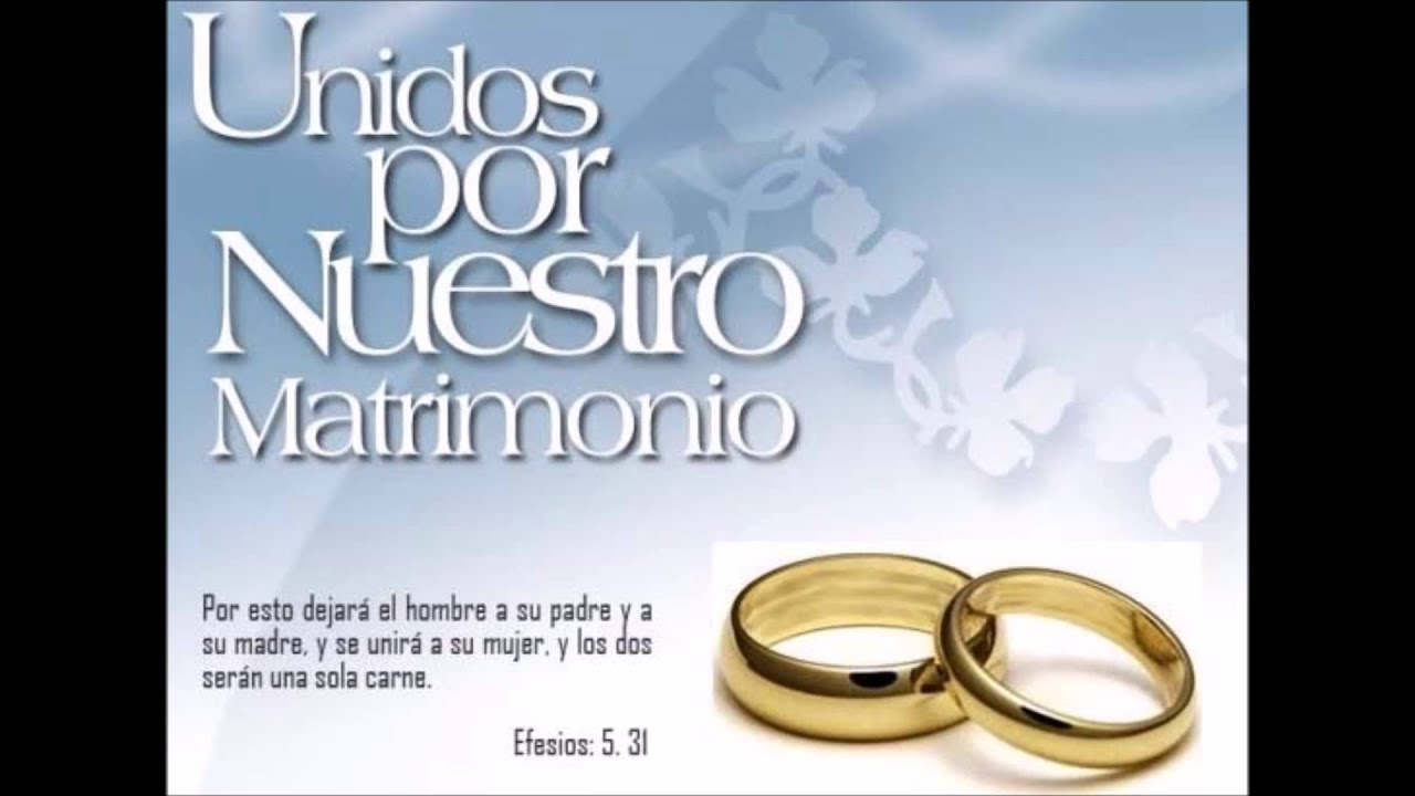 El Amor Matrimonio Biblia : Isai salinas oficial esposa mía matrimonio youtube