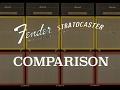 STRATOCASTER COMPARISON Fender 1966, 1979, and Texas Speacials