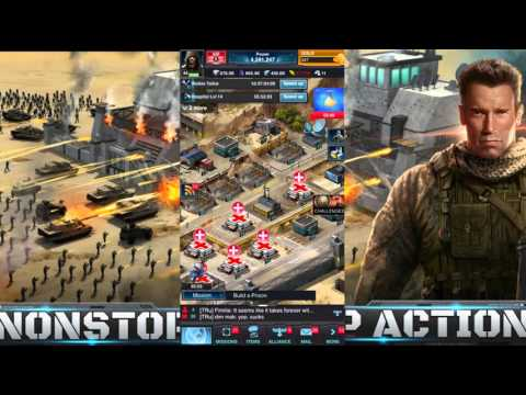 Mobile Strike Ep 31 Rally Trap. They Rally Me & I lost Nothing LMFAO!!!!!