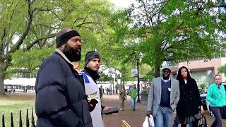(4) - Arkansas  Israelite on the streets preaching the bible.