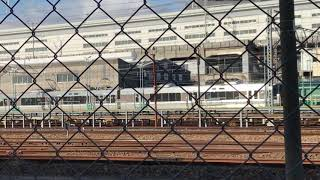 ◆車両移動 223系 宮原電車区 「一人ひとりの思いを、届けたい JR西日本」◆ thumbnail