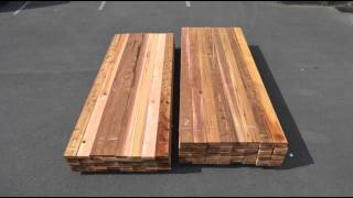 Unpacking Western Red Cedar Decking