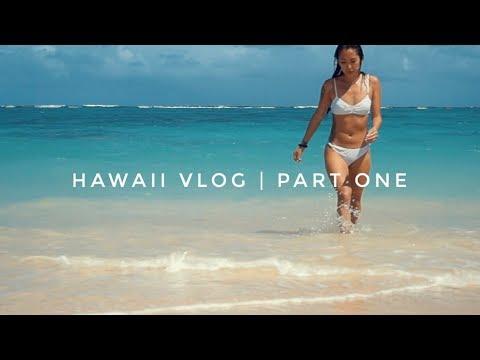 HAWAII VLOG - Mermaid Caves, Diamond Head, Lanikai Beach!