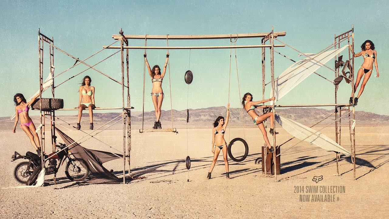 389355125e174 Fox Girls Presents | Lust for Dust | 2014 Swim Collection. Fox Racing