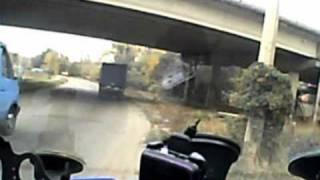 ГАИ Украина Днепр 33 (днепропетровский технадзор)(Обнаружил на остановке общественного транспорта (и карман был, и знак)