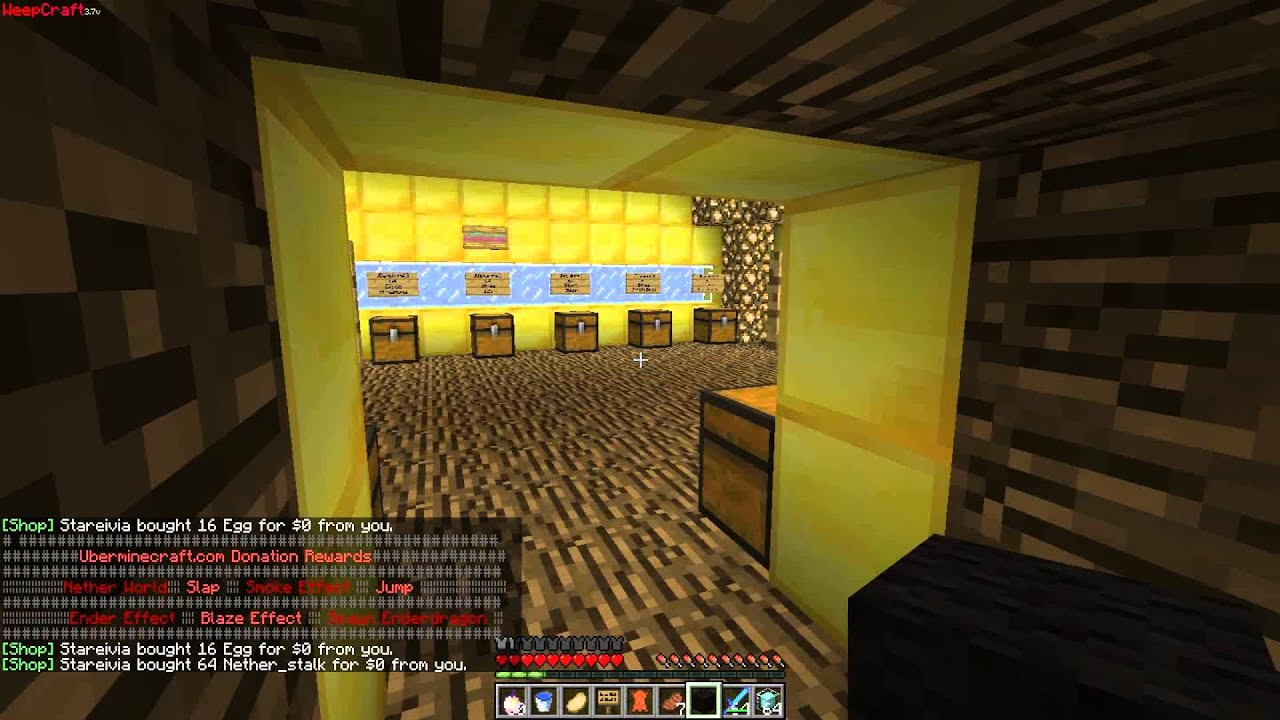 Minecraft Skyblock Cool Shop Warp Jdsugar Shop YouTube
