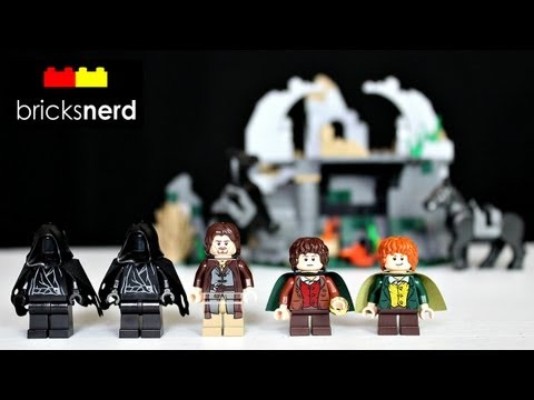 LEGO The Lord Of The Rings Attack On Weathertop 9472 Review