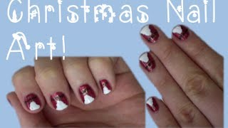 Christmas Nail Art! Santa Nails! Thumbnail