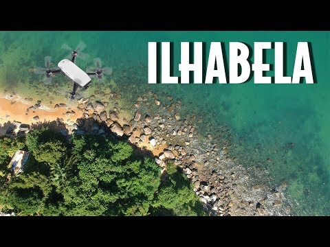 Drone em Ilhabela