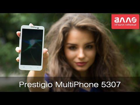 Видео-обзор смартфона Prestigio MultiPhone 5307