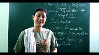 CLASS 9 | GEOGRAPHY | ECONOMIC ACTIVITIES ON OCCUPATION
