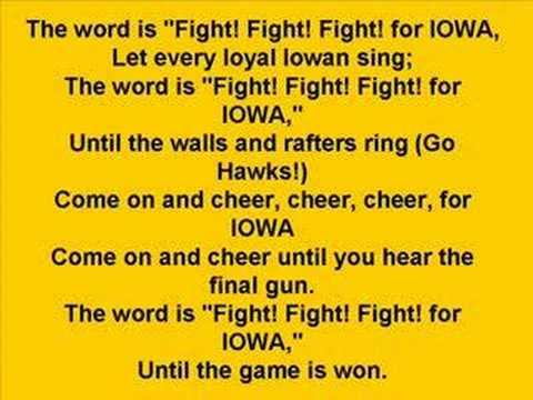 Iowa Hawkeyes - Fight Song