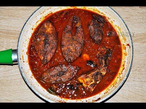 SRI LANKAN FISH CURRY (பாரை மீன் குழம்பு) BY BEING HUNGRY SRI LANKA