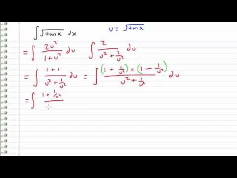 Calculus - The Most Difficult Integral - sqrt(tan(x)) (Request)