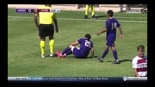 Stanford Men's Soccer vs University of Washington April 17, 2021