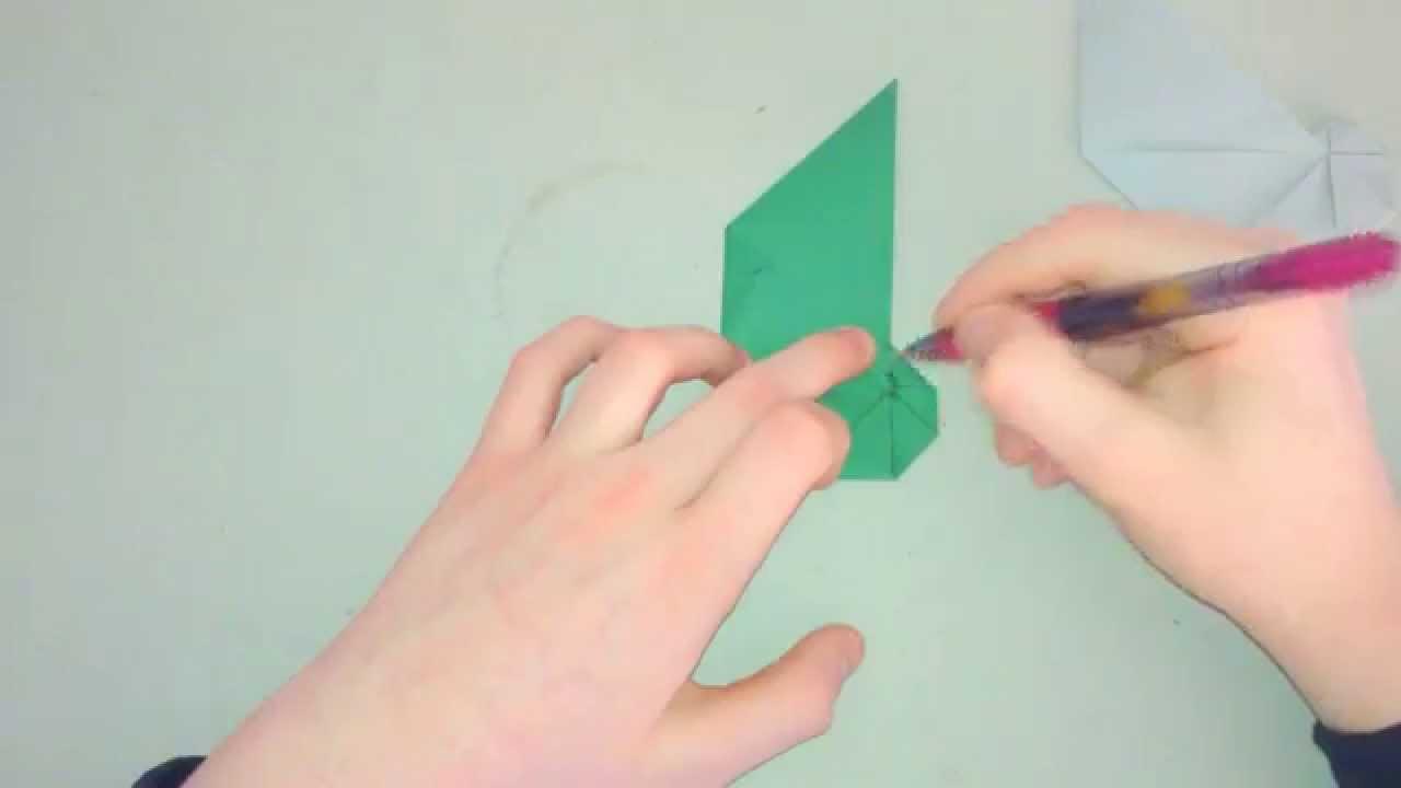 Origami Tutorial - How To Fold A Conch Shell (Jun Maekawa) - YouTube