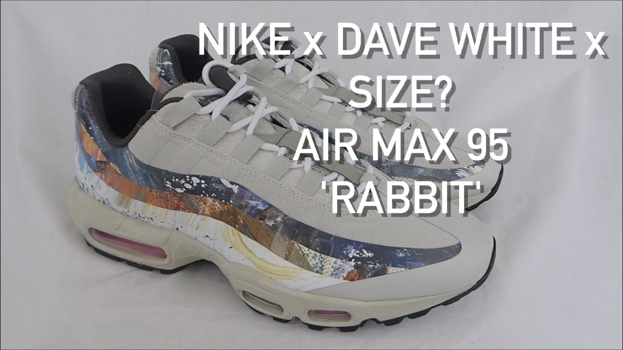 379c2df951 Nike x Dave White x Size? Air Max 95 - 'Rabbit' | Visual Overview |  Detailed First Look