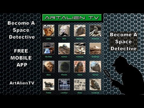 Become A Space Detective - FREE MOBILE APP - ArtAlienTV