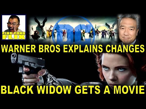 WARNER BROS. Explains Changes and their Vision for DC!  BLACK WIDOW is Getting Her Own Movie!