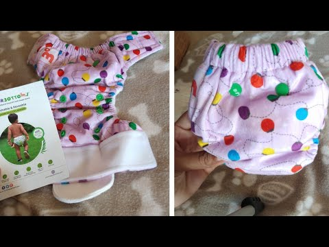 Unboxing Of Organic Cotton Diapers/reusable More Than 300 Washes/Super Bottoms Cotton Diapers