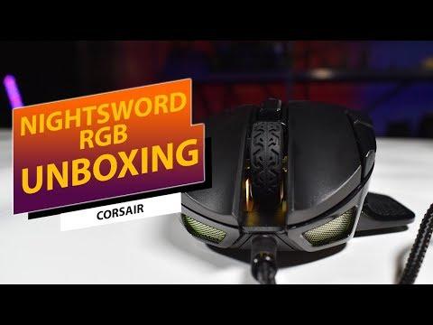 UNBOXING - Corsair Nightsword RGB