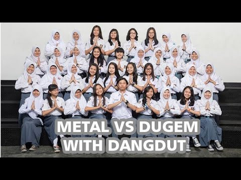 Metal Vs Dugem With Dangdut