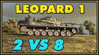 World of Tanks | Leopard 1 - 8 Kills - 8.1K Damage