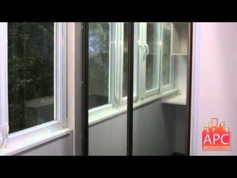 Совмещение и капитальный ремонт балкона 1-515 (1-515/9ш... d.