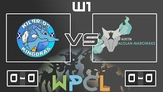 Kilbride Kingdras WPCL Week 1: vs Austin Alolan Marowaks thumbnail