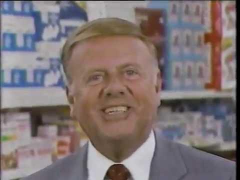 Legend Pharmacy ad wDick Van Patten, 1988