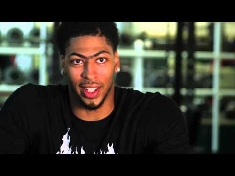 Anthony Davis – Working Out