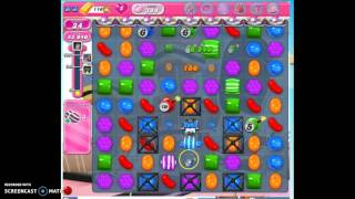 Candy Crush Level 384 w/audio tips, hints, tricks