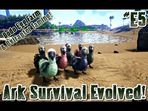 ark survival evolved how to make an egg farm