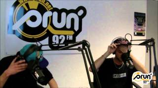 Kéroué & Vidji (Fixpen Sill / 5 Majeur) en freestyle sur Radio Prun'