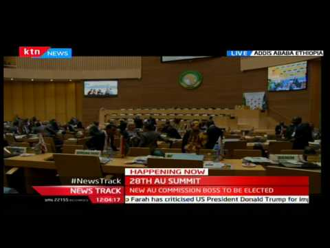 Live from Addis Ababa with the election of the next AU chair soon to commence