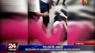 Baixar Chincha: escolares se agarran a golpes en salida del colegio