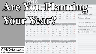 Are You Planning Your Video Year?