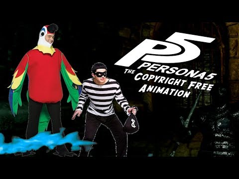 Persona 5 The Copyright Free Animation - Episode 1