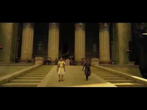 Exodus, gods and kings movie trailer for manchester college with music I have composed