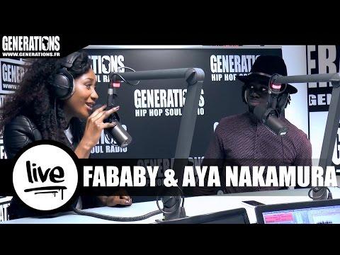 Fababy & Aya Nakamura - Love D'un Voyou (Live des studios de Generations)