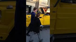Гелендваген желтый Brabus G850 в городе Тараз