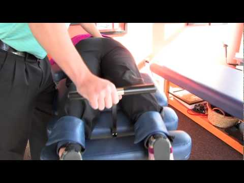 Flexion Distraction Table Therapy being used at Lyn Lake